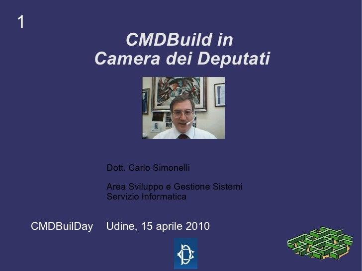 CMDBuild in Camera dei Deputati - CMDBuild Day, 15 aprile 2010
