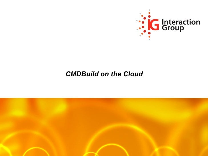CMDBuild on the Cloud