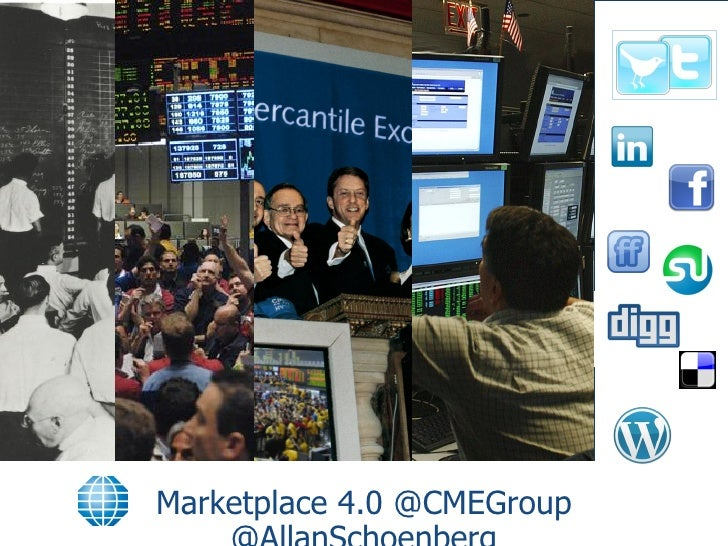 Marketplace 4.0 @CMEGroup