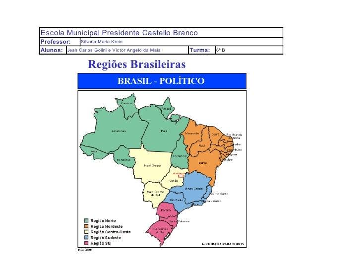 Regiões Brasileiras