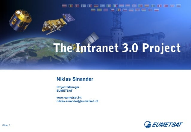 The intranet 3.0 project - how to kick life into a stale intranet