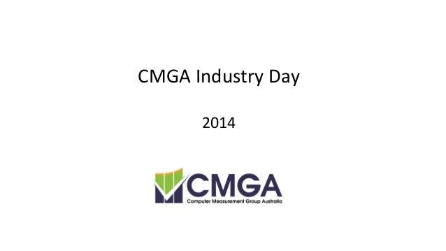CMG Australia Industry Day 2014