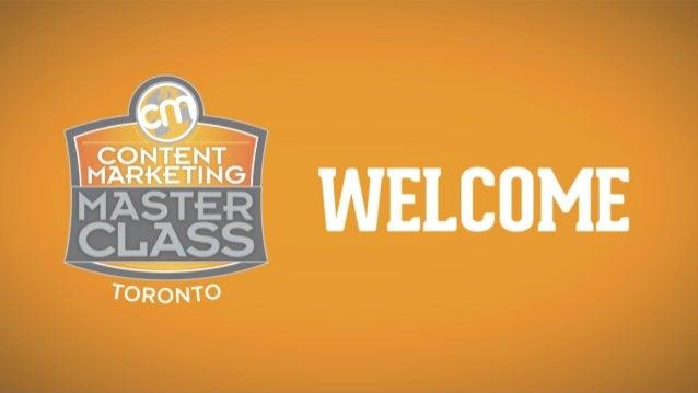 CMI Master Class Toronto Presentation