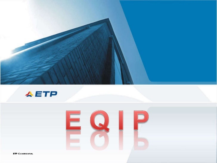 ETP Confidential