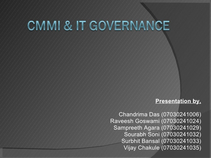CMMi & IT Governance
