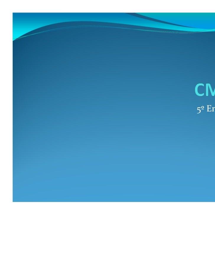 CMMI - 5ª Aula