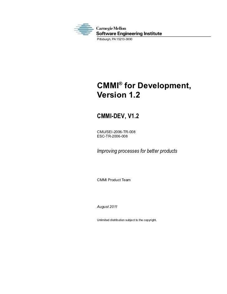 Cmmi dev-v1.2