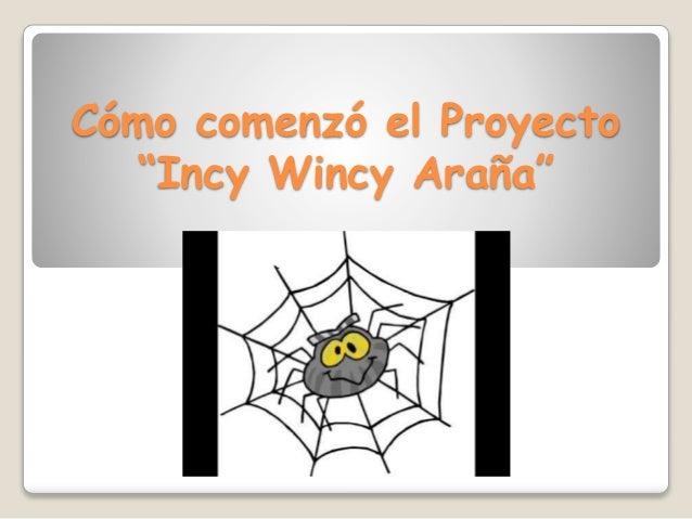 Wincy Incy Araña
