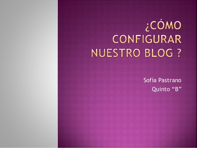"Sofía Pastrano Quinto ""B"""