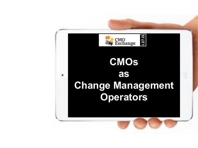 l.27.l3!      CMOs        asChange Management    Operators