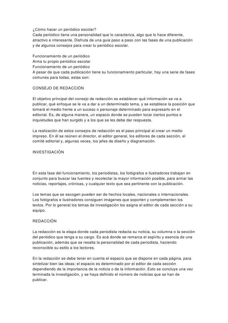 Cmo Hacer Un Periodico Mural Escolar | Search Results |