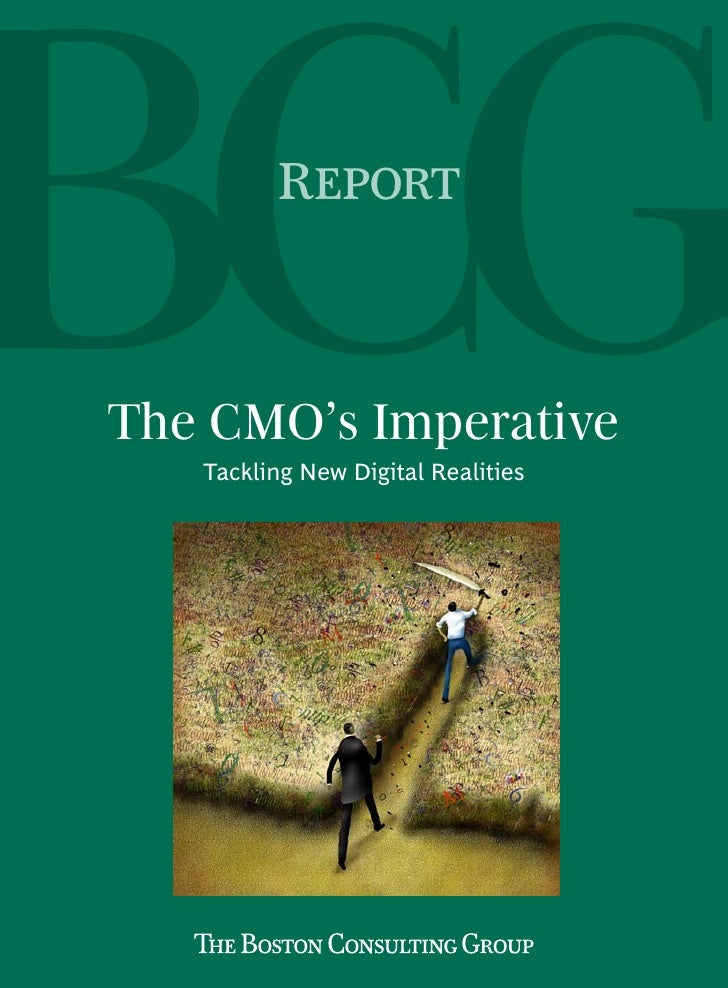 The CMO's Imperative