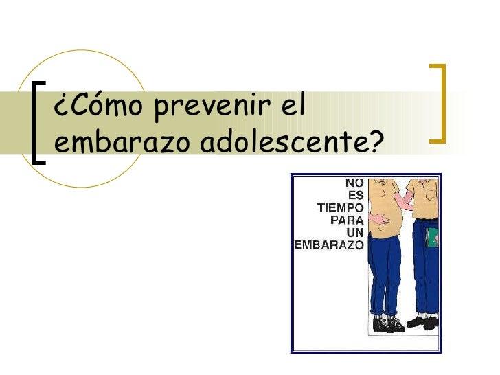 C mo prevenir el embarazo adolescente - Como evitar humedades en las paredes ...