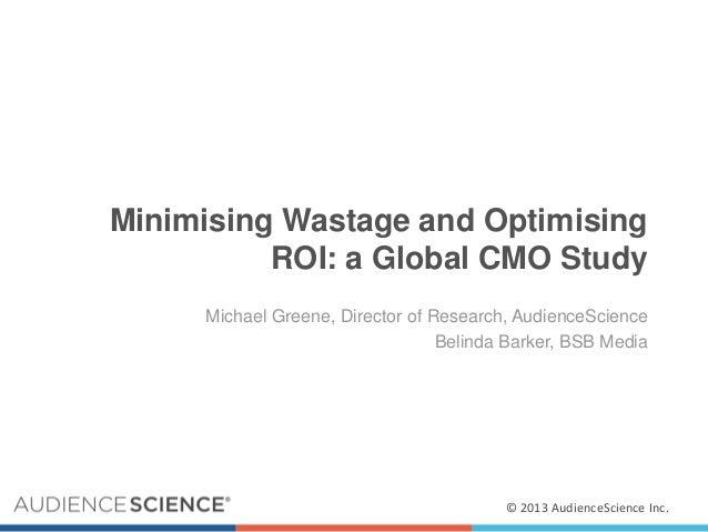 Webinar on Minimizing Waste and Optimizing ROI in Digital Advertising
