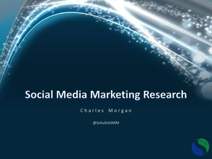 Social Media Marketing Research - Driving Insights