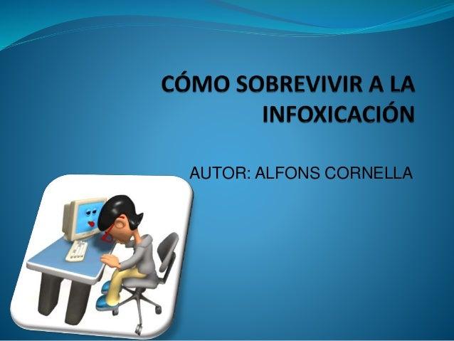 AUTOR: ALFONS CORNELLA