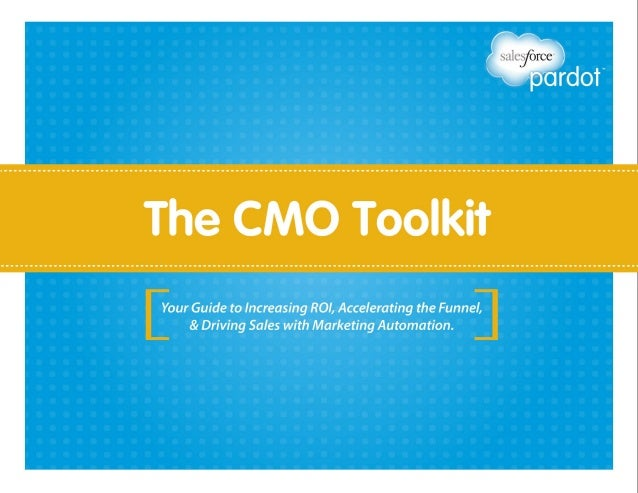 A great toolkit and checklist for senior marketeers