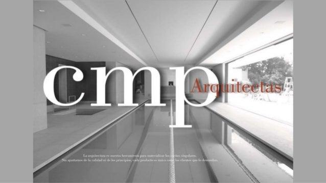 Cmp arquitectas presentación