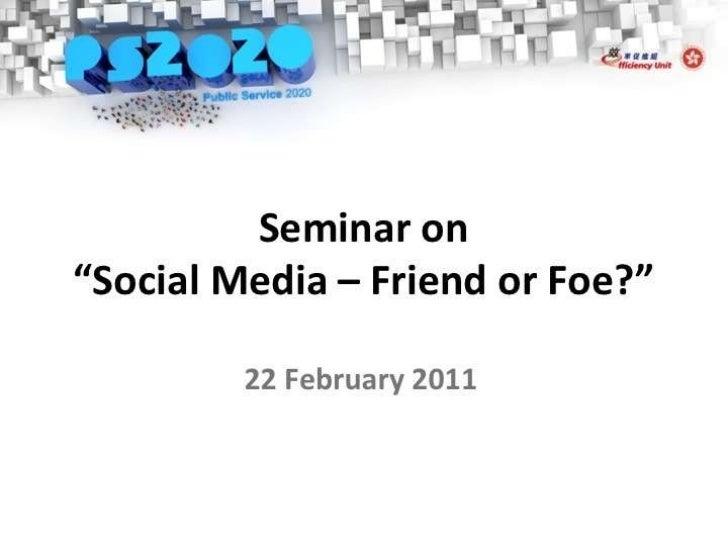 <ul><li>Social Media How To Use It And How To Manage Risk </li></ul><ul><li>22 February 2011 </li></ul><ul><li>Paul Haswel...