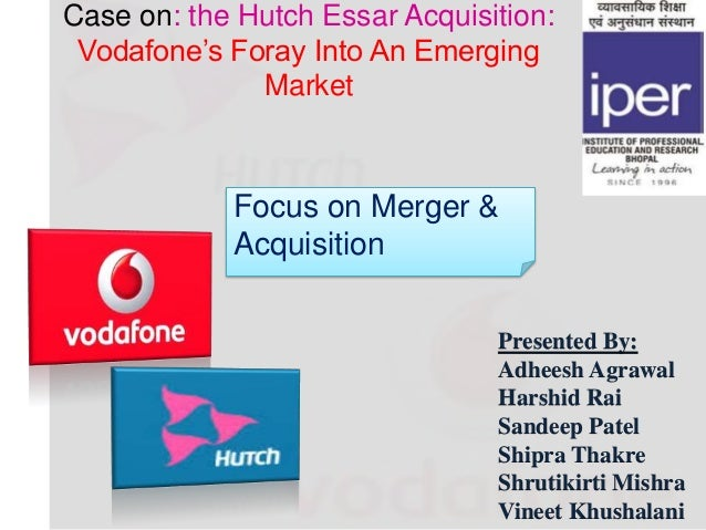 Merger & Acquisitions: Hutch Is Now Vodafone