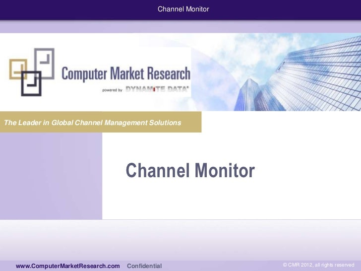 Channel MonitorThe Leader in Global Channel Management Solutions                                    Channel Monitor    www...