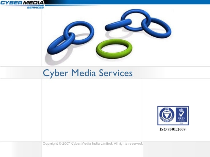 Cyber Media Services ISO 9001:2008