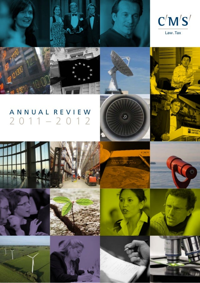 Cms annual review 2012