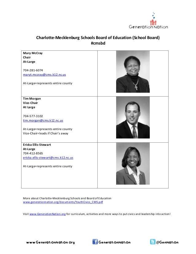 Charlotte-Mecklenburg Schools - School Board