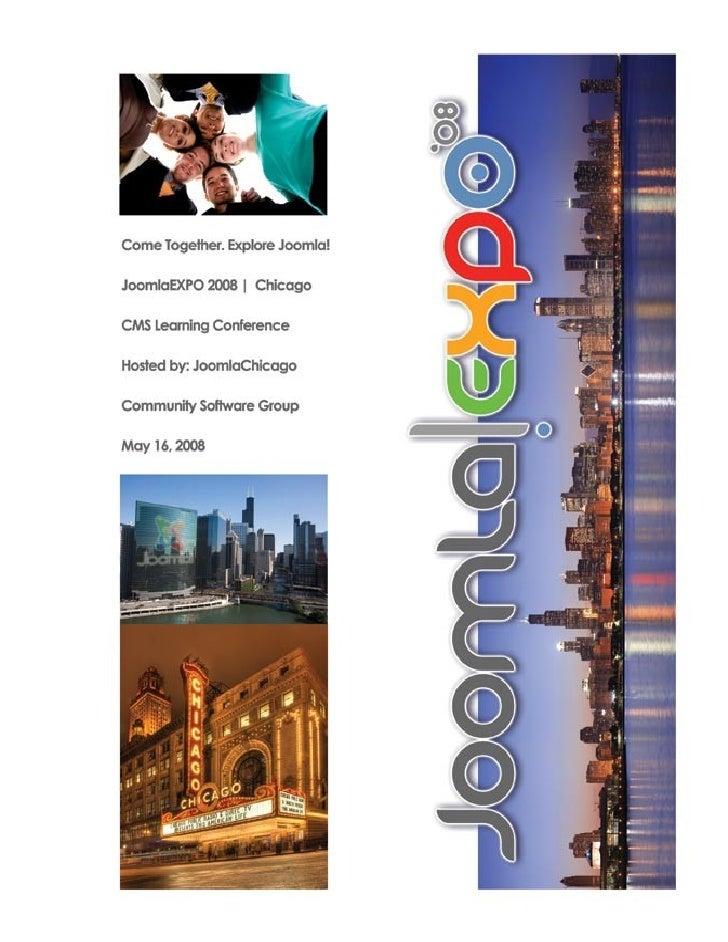 Cms Expo Program Book May08