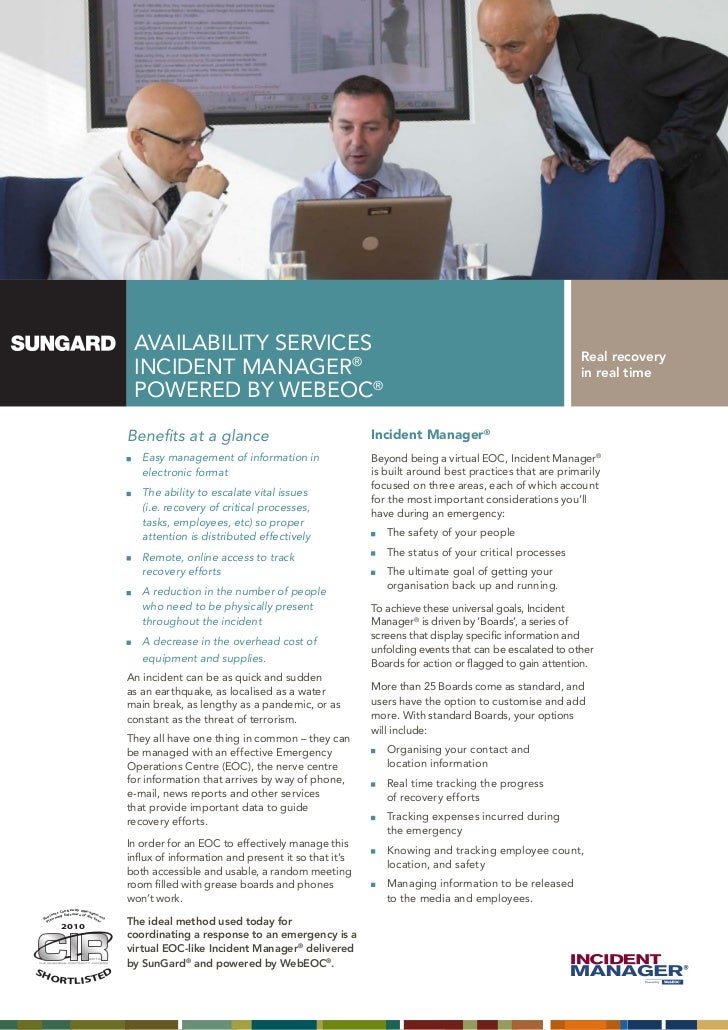 AVAILABILITY SERVICES                                                                          Real recovery              ...