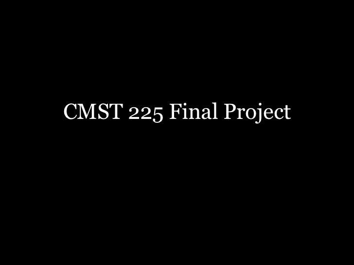 CMST 225 Final Project