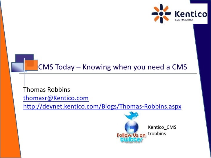 Cms Today: Knowing When You Need A CMS