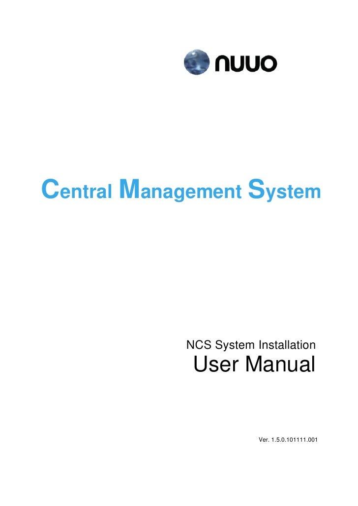 Cms user manual