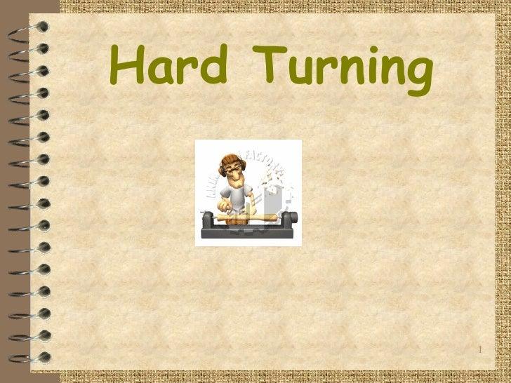 Hard Turning