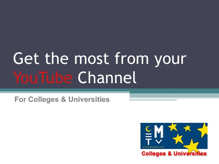 Get the most from your YouTube  Channel