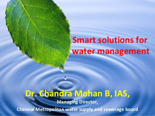 Smart Water Logo Smart Solutions For Water