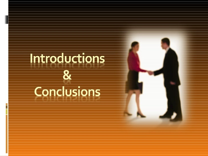 Intros & Conclusions The five big questions Closing the Speech Discussion Question