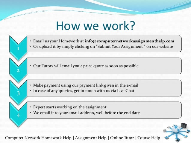 network assignment Computer network assignment help for higher grades computer network assignment help australia can get extremely complicated and complex if you are students of computers and need help with.