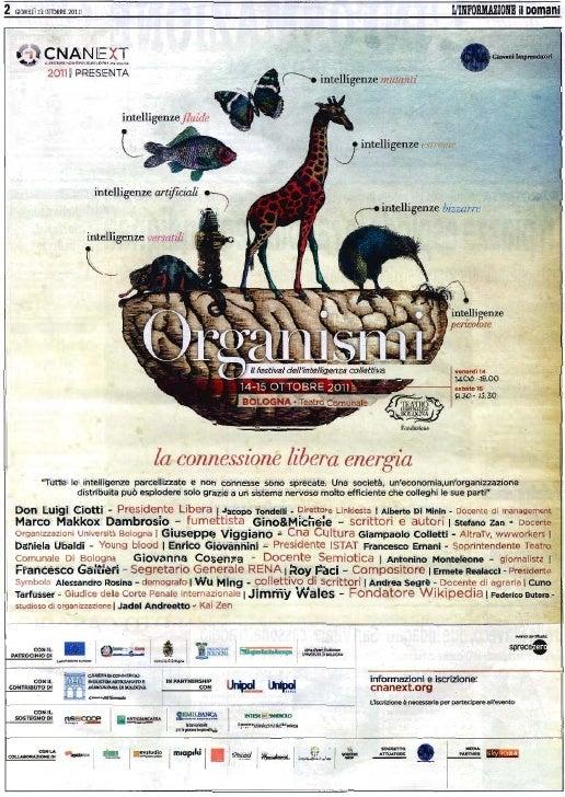 Conferenza Stampa CNA NEXT 2011