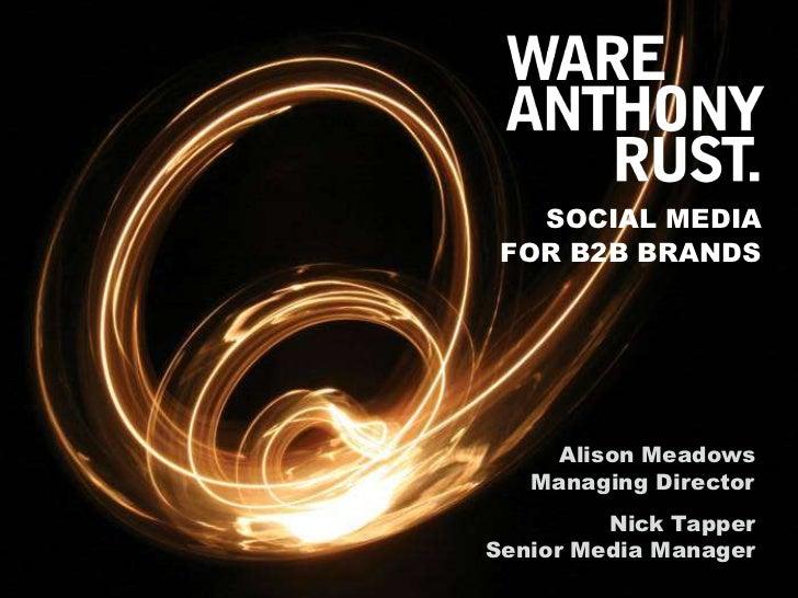 B2B Social Media Seminar