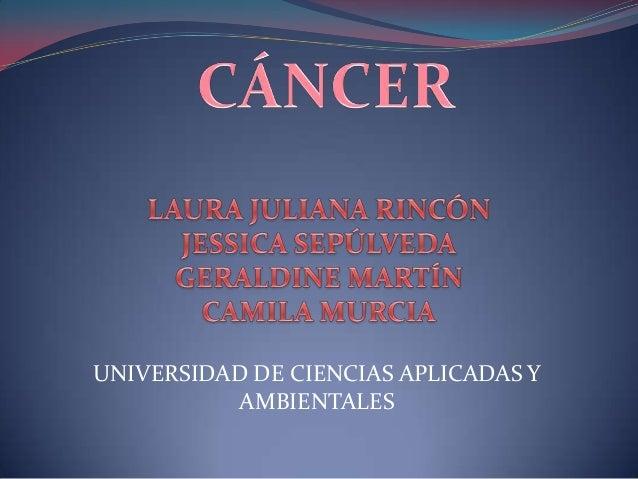 UNIVERSIDAD DE CIENCIAS APLICADAS YAMBIENTALES