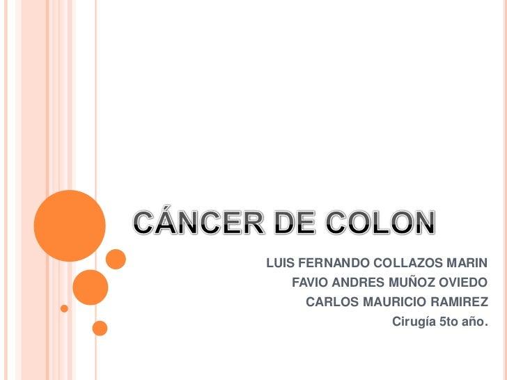 LUIS FERNANDO COLLAZOS MARIN   FAVIO ANDRES MUÑOZ OVIEDO     CARLOS MAURICIO RAMIREZ               Cirugía 5to año.