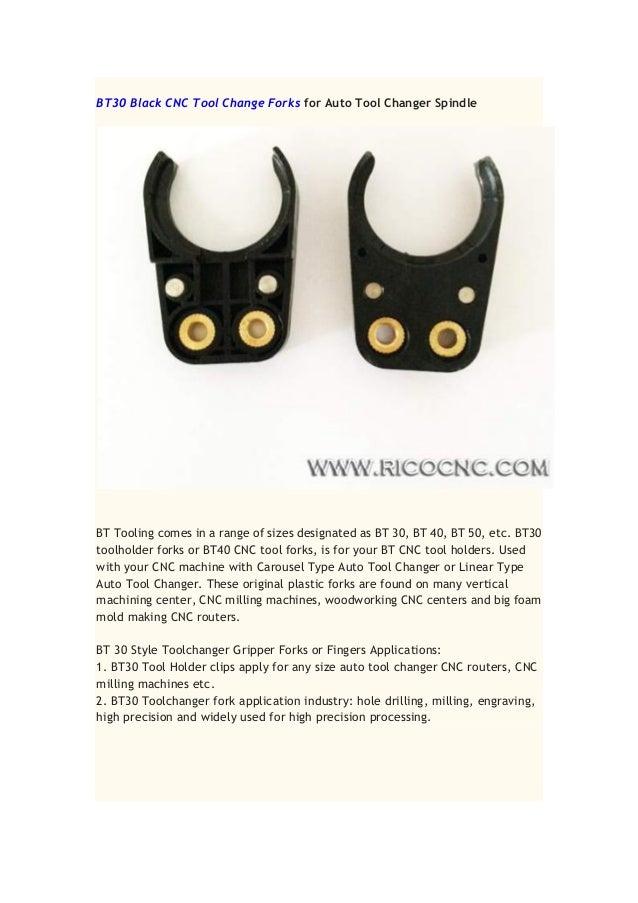 Cnc tool forks iso30 hsk bt30 bt40 plastic gripper clip