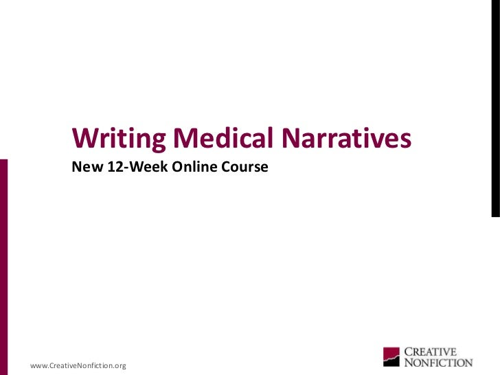 What kind of writing is done in a creative non-fiction course?
