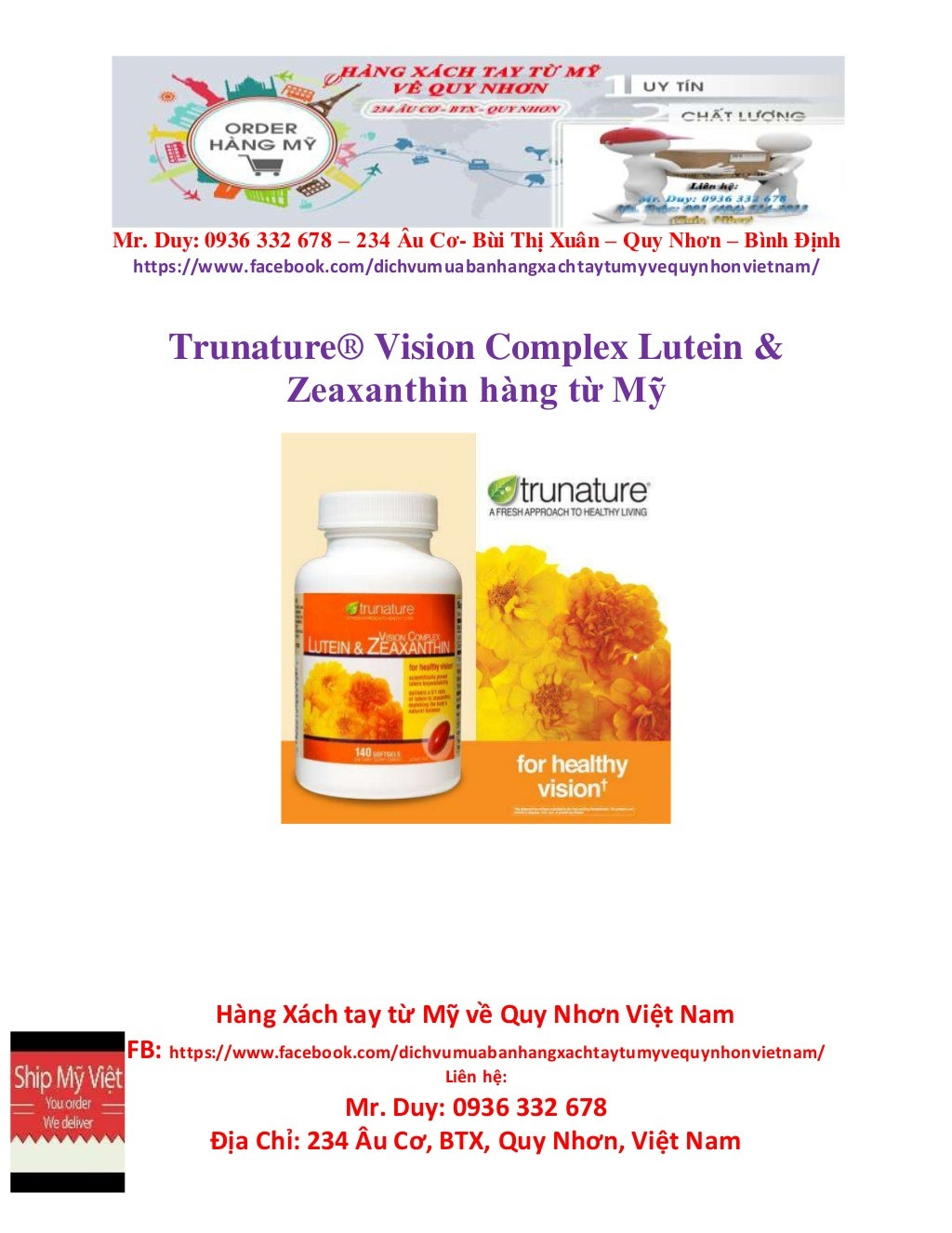 Công ty order thuốc bổ xách tay ở Quy Nhơn uy tín - Magazine cover