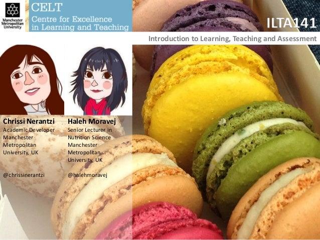 ILTA1 intro and planning Chrissi Nerantzi and Haleh Moravej