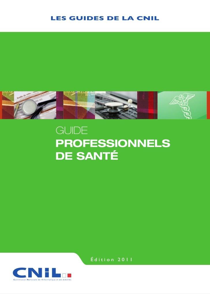 Professionnelsde santé    Édition 2011