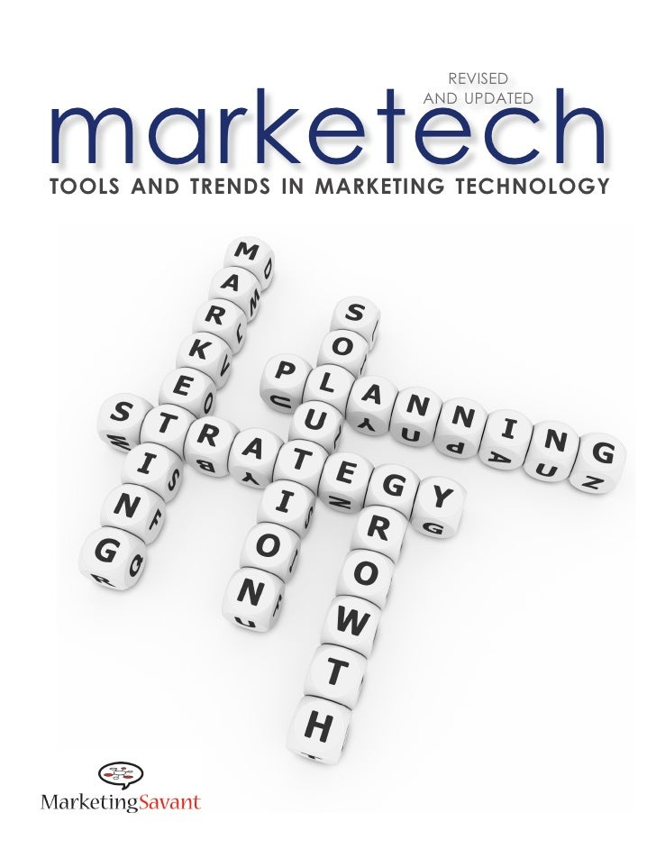 Tools and trends in marketing technology