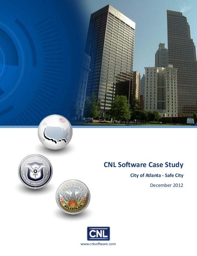 www.cnlsoftware.comCNL Software Case StudyCity of Atlanta - Safe CityDecember 2012