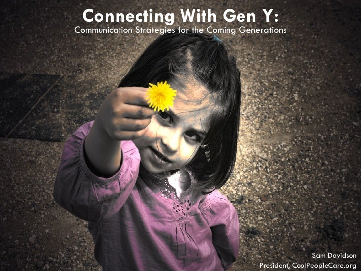 Gen Y and the Nonprofit Sector